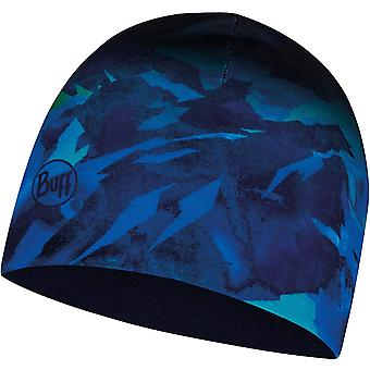 Buff Kids Microfiber & Polar Outdoor Warm Winter Beanie Hat - Mountain Blue