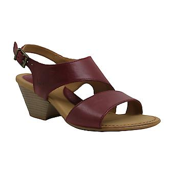 Sandales B.O.C Womens angulo Leather Open Toe Casual Ankle Strap Sandales
