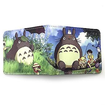 PU leather Coin Purse Cartoon anime wallet --Totoro # 687