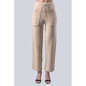 Women's Ecru Sam-rone Pants