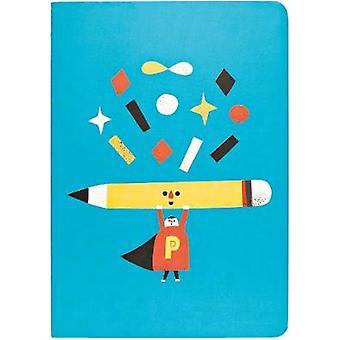 Pencil Man A5 Notebook