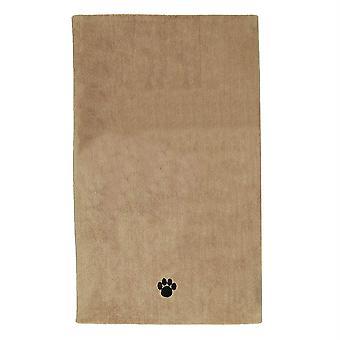 Dii Brodé Bath Towel-Paw Print