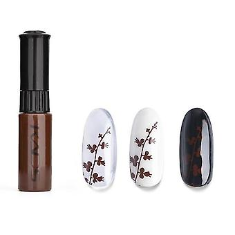 Nail Art Stamping Polish Set - Printing Varnish Diy Design For Stamping Plate
