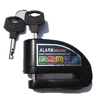Bike Alarm Lock Motorcycle Disc Brake Lock 110db Loud Security Waterproof