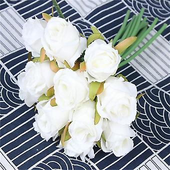 Bouquet, Artificial Bridal Wedding Accessories, Bridesmaids Flower