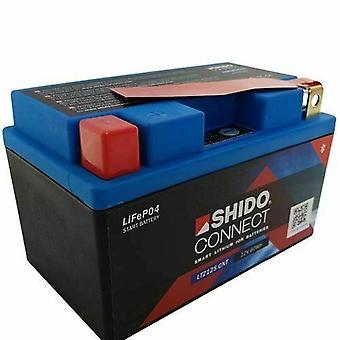 Shido Motorcycle Lithium Iron Battery LiFePO4 12V 5Ah 1 1kg 150x87x110mm
