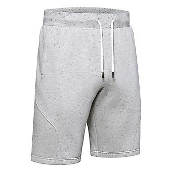 Under Armour Mens Speckled Shorts Casual Pants Grey 1352014 112