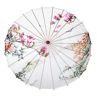 Paraguas de decoración nupcial de la boda, prop de seda