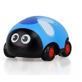 Lindo plástico abeja ladybug tirar de nuevo coche inercia camión bebé