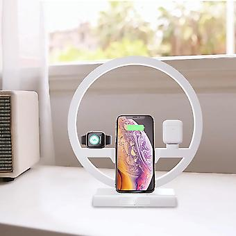 3 In 1 Fast Wireless Charger Dock Station Us Plug
