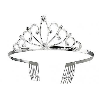 Tiara Royal Queen Argent Femmes