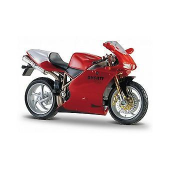 Burago Ducati 998R Red  Motorcycle 1:18