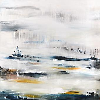 Dywan z nadrukiem Droga do kolorów Wielobarwny z poliestru, bawełny, L120xP180 cm
