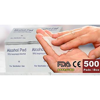 1000-buc alcool de unică folosință Bumbac Prep Pad Sterilizare Tampoane