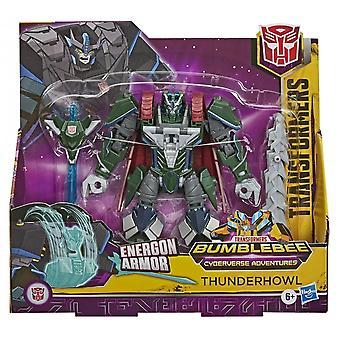 Transformers Cyberverse Ultra Thunderhowl Action Figure