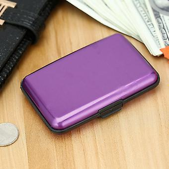 Waterproof Aluminum Card Holder Wallet