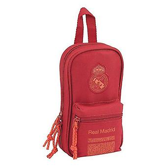 Backpack pencil case real madrid c.f. red (33 pieces)