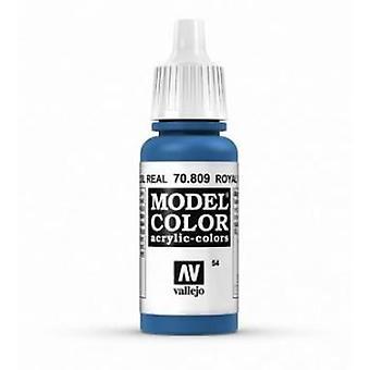 Vallejo Model Color 17ml Acrylic Paint - 809 Royal Blue