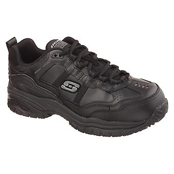 Skechers grinnell soft stride safety shoes mens