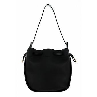 Sac femme Liu-jo Shopping Hobo M Black Faux Leather Bs21lj101 Aa1267