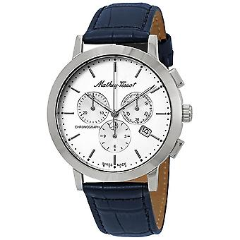 Mathey-Tissot Sport Classic Chronograph White Dial Men's Watch H9315CHALI
