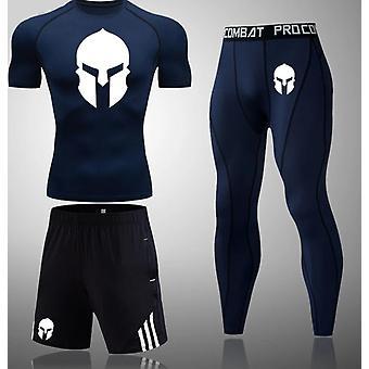 New Compression Men Sport Suits-  Jogging, Training, Gym Fitness Set