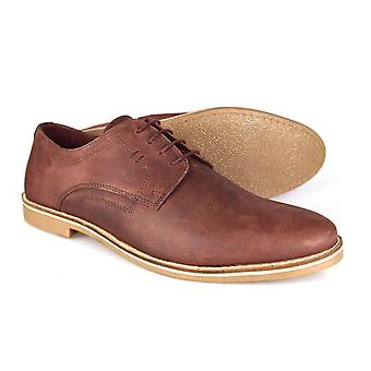 Red Tape Campton Men's Burgundy Suede Nubuck Lace-up Casual Shoes
