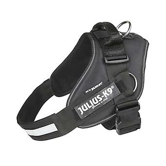 """Julius-K9 IDC-Powerharness For Dogs With Siderings """"Julius-K9"""" Illuminated Hook & Loop Patches Size: 2, Black"""
