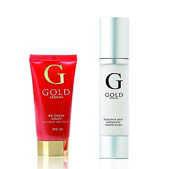 Gold serums daily repair gift set