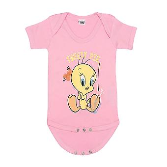Looney Tunes Mädchen Tweety Pie Babygrow