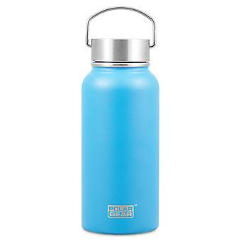 Polar Gear Hydra Surge Stainless Steel Bottle, Scandi Blue
