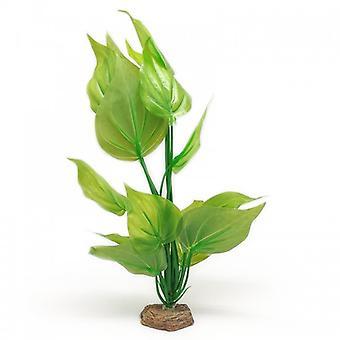 Fluval Grüne Eidechsenpflanze (Fische , Aquariumsdeko , Künstliche Pflanzen)