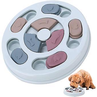 Hundespielzeug Intelligenz, Hundepuzzle Spielzeug Hunde Lernspielzeug, interaktive Treat Dispenser