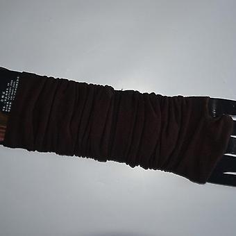 Albue varmere stribet strikket fingerløse lange handsker
