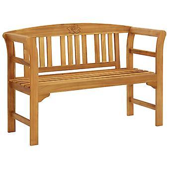 vidaXL banc de jardin avec 120 cm bois massif acacia
