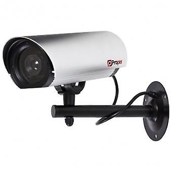 Proper Imitation Camera Aluminium With LED Light Commercial Series Silver
