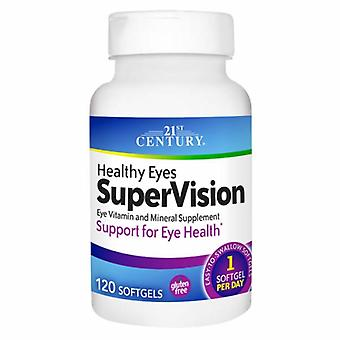 21st Century Zdrowe oczy Super Vision, 120 Softgels