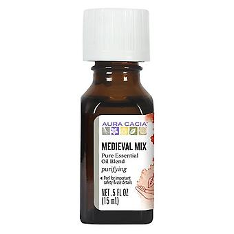Aura Cacia Essential Solutions Oil, Medeival Mix 0.5 Oz
