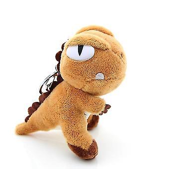 Dinosaurus Pluche Pop Met Hanger Tyrannosaurus Toy Claw Machine Doll (BROWN)