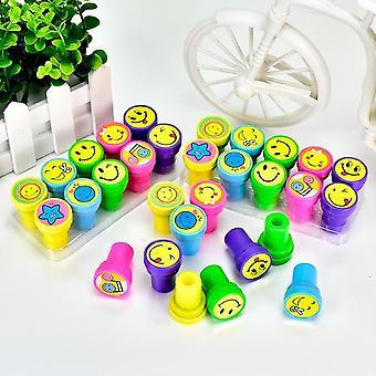 Children Toy Stamps, Cartoon Smiley Face Kids Seal For Scrapbooking Stamper,