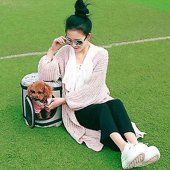 Όμορφη floral μαλακή Eva φορητή τσάντα κατοικίδιων ζώων αναπνεύσιμη υπαίθρια τσάντα κατοικίδιων ζώων μεταφορέων