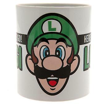 Super Mario Ici nous allons Luigi Mug