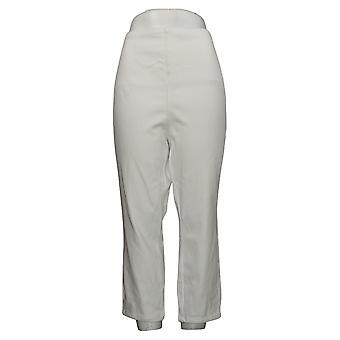 Belle av Kim Gravel Kvinners Jeans Plus Flexibelle Hvit A373936