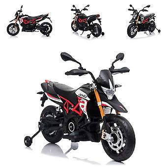 ES-Toys Kids elektrische motorfiets Aprilia 900 Dorsoduro, Power 2x 35W Licentie