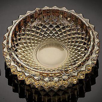 1Pc Crystal Ashtray Grade Refined Glass Creative Office Ashtray|Ashtrays