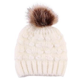 Baby Warm Soft Beanie Hut Haarball Mütze