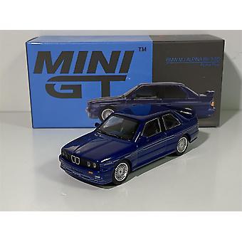 BMW M3 E30 Alpina B6 3.5S Alpina Blue LHD 1:64 MiniGT MGT00120L