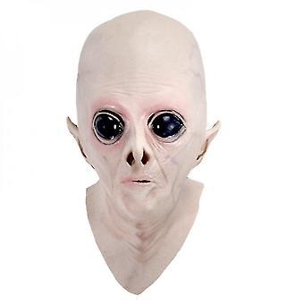 Masks halloween creepy latex ufo alien full head mask