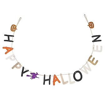 Heaven Sends Happy Halloween Decorative Garland