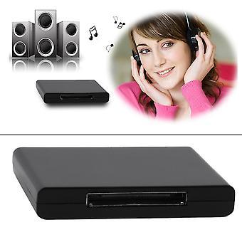Bluetooth 2.1 A2dp MusikEmpfänger Audio Adapter für 30 Pin Dock Lautsprecher